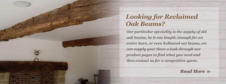 Speciality Reclaimed Oak Beams