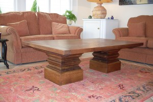 wood furniture in home with lovely oak table