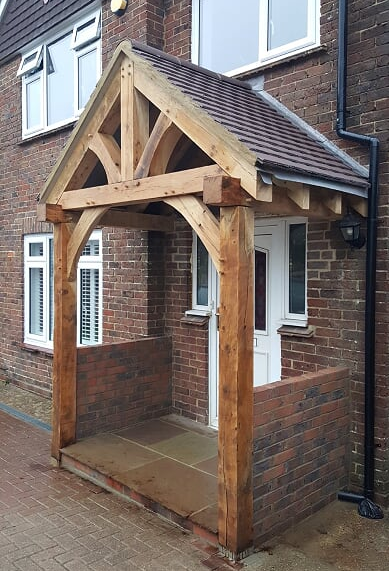 Oak Framed Porch Case Study Tradoak