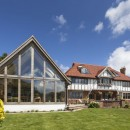 Oak Framed Extension with Encapsulated glazing