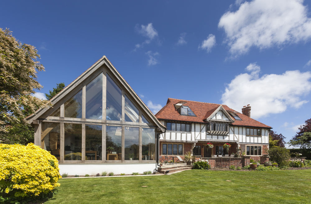 Oak Framed Extension Tradoak Case Study