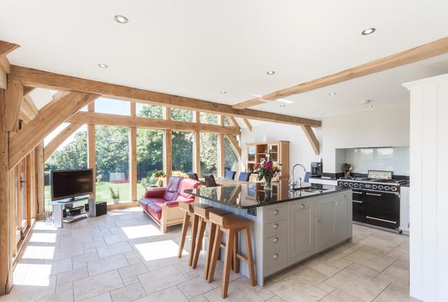 oak framed sun room