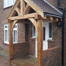 Oak Framed Porch Case Study