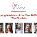Stage is set for Coro Nuovo Young Musician of the Year Competition