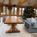 Creating a stunning solid oak dining table – from start to finish
