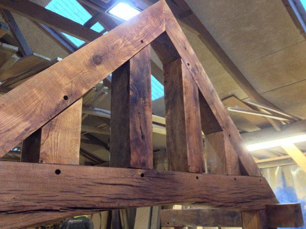 oak trusses
